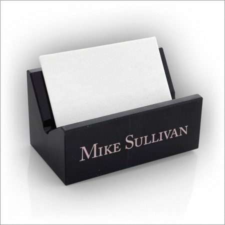 Marble bc holder college grad shop for Marble business card holder